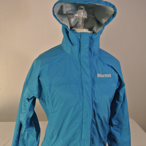 MARMOT Sz. SMALL Women WATERPROOF Rain Jacket Coat.  M 5b525066534ef9eb3c3e364c 2e1052190d
